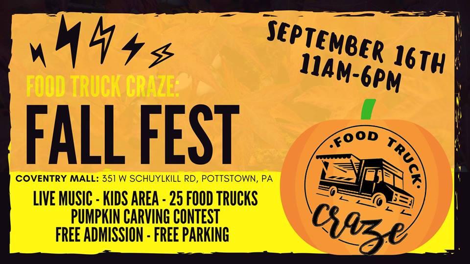 Food Truck Craze Fall Fest